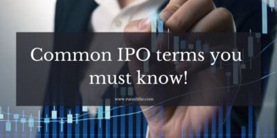 Common IPO terms you must know!